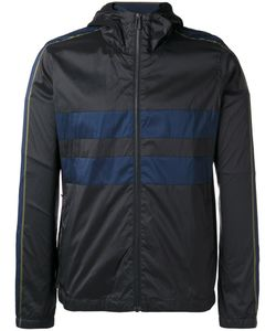 PS PAUL SMITH | Ps By Paul Smith Striped Detail Hooded Jacket Xl