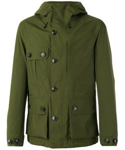 Woolrich | Hooded Parka Jacket Large Polyamide/Polyester