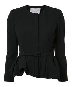 Carolina Herrera | Peplum Jacket 2 Virgin Wool/Cotton