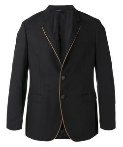 Tonello | Contrasting Pipping Blazer Size 50