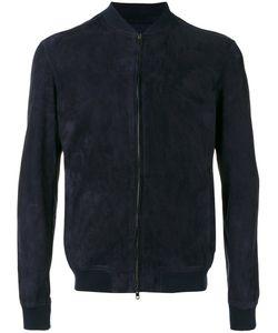 SALVATORE SANTORO   Bomber Jackeat 52 Leather