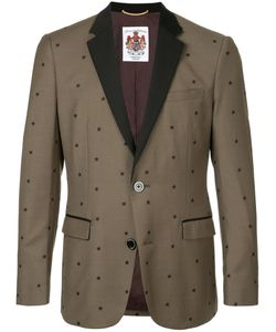 EDUCATION FROM YOUNGMACHINES   Star Print Classic Blazer Men