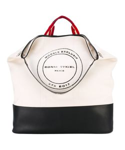Sonia Rykiel | Le Sailor Oversize Tote Cotton/Calf