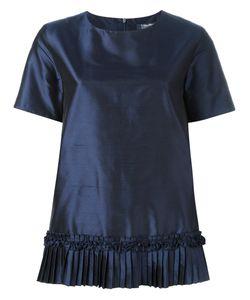 'S Max Mara | Pleated Trim Hem T-Shirt 44