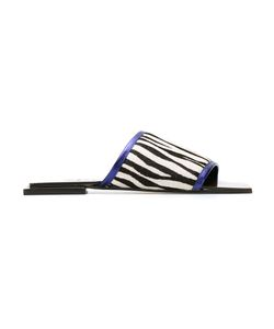 Manolita | Leather Flat Sandals