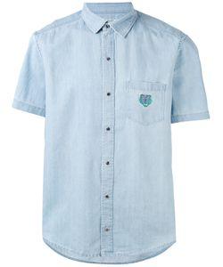 Kenzo   Джинсовая Рубашка С Нагрудным Карманом