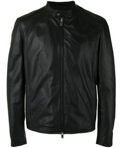 Drome   Zip Up Jacket Small Leather/Acetate/Viscose