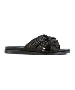 Simone Rocha   Ruched Sandals 37