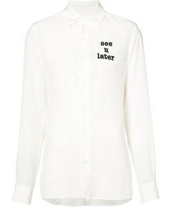 Loewe   See-Through Shirt 36