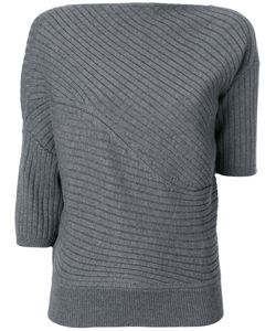 J.W. Anderson | Asymmetric Ribbed Knitted Top Women
