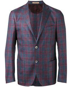 Corneliani | Checked Blazer Size 52