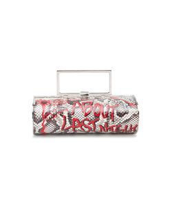 Elisabeth Weinstock | Singapore Clutch Bag Leather/Metal