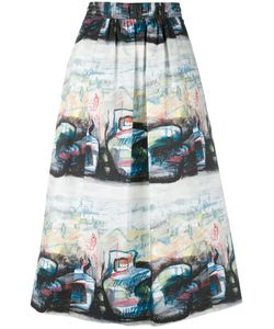 Burberry | Printed Skirt 6
