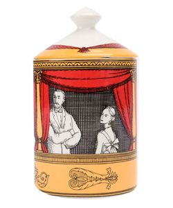 FORNASETTI   Teatro Printed Scented Candle