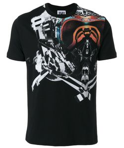 Les Hommes Urban | Symmetry Print T-Shirt Men