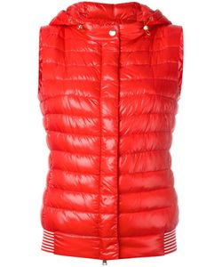 Herno | Hooded Gilet 42 Feather Down/Polyamide