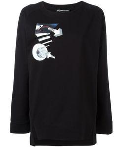 Y-3 | Planet Print Sweatshirt Xs Cotton