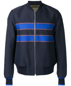 PS PAUL SMITH | Ps By Paul Smith Striped Detail Bomber Jacket