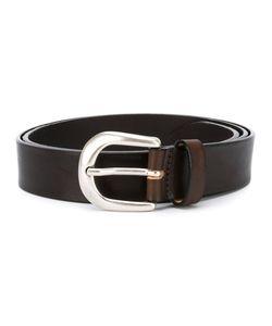 Eleventy   Buckled Belt Size 80