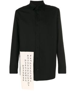 D. Gnak | Patch Detail Shirt Men 46