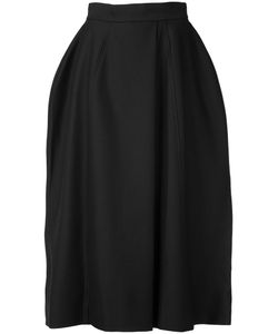 Vera Wang | Full Midi Skirt 2 Nylon/Wool/Cotton