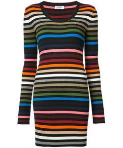 Sonia Rykiel | Приталенное Платье В Полоску