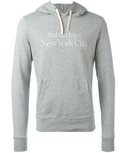 SATURDAYS NYC | Ditch Miller Standard Hooded Sweatshirt