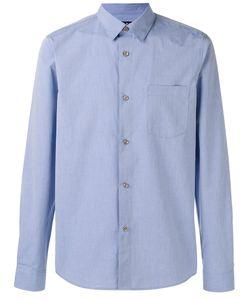 A.P.C. | A.P.C. Curved Hem Shirt Size Xl