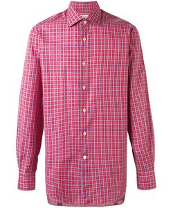 Kiton | Checked Shirt 44