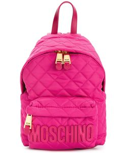 Moschino | Quilted Backpack Polyamide/Leather