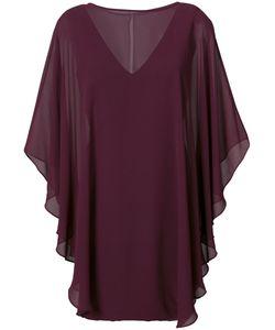 Halston Heritage | Расклешенное Платье-Шифт