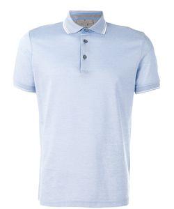 Canali   Plain Polo Shirt 48