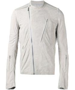 Rick Owens | Collarless Biker Jacket Size