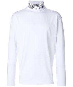 Gcds   High Neck Logo Sweater Men