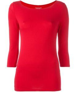 MAJESTIC FILATURES | Three-Quarters Sleeve T-Shirt I Viscose/Spandex/Elastane