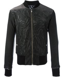 Versus | Printed Bomber Jacket 50 Viscose/Cupro/Cotton/Polyester