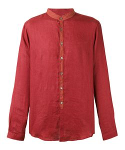 John Varvatos | Mandarin Collar Shirt Medium