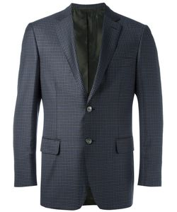 Brioni | Checked Blazer 56 Cupro/Wool