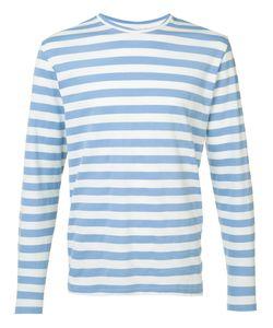 ORLEY | Striped Sweatshirt Medium Cotton