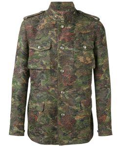 GABRIELE PASINI | Куртка С Цветочным Жаккардовым Узором