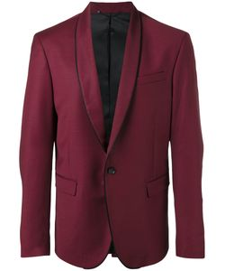 Diesel | Piped Trim Blazer 52 Virgin Wool/Nylon/Spandex/Elastane/Polyester