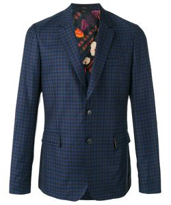 Paul Smith | Checked Blazer 40 Wool/Cupro