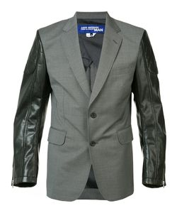 JUNYA WATANABE COMME DES GARCONS | Junya Watanabe Comme Des Garçons Man Contrast Sleeves Blazer Size