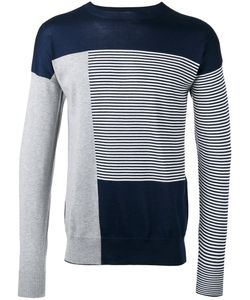 Diesel Black Gold | Striped Sweatshirt Medium