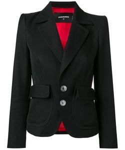 Dsquared2 | Notched Lapel Blazer 38 Cotton/Silk/Polyester