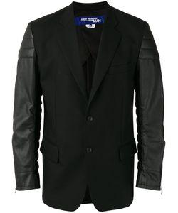 JUNYA WATANABE COMME DES GARCONS | Junya Watanabe Comme Des Garçons Man Leather Effect Sleeves Blazer