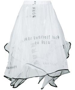 AREA DI BARBARA BOLOGNA | Tulle Burn Skirt