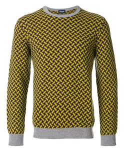 Drumohr | Weave Patterned Jumper Men