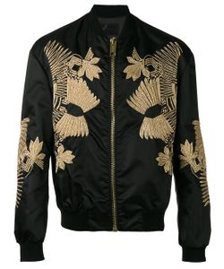 Les Hommes | Embroidered Bomber Jacket