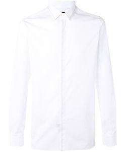 Lanvin | Рубашка С Простроченной Отделкой